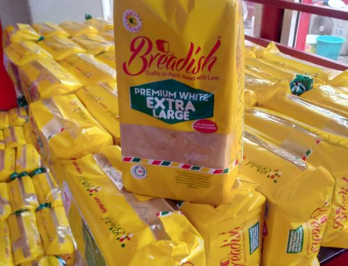 LAGOSIANS ARE EXCITED ABOUT THE ALL NEW PACKAGING OF BREADISH BAKERY LOAVES